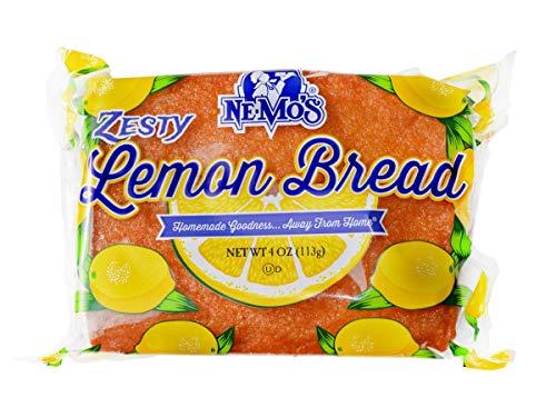 (Ne-Mos Zesty Lemon Cake Bread, 4 Ounce -- 12 per case.)