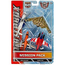 Sikorsky S-92, Snow Explorer, Pusher Prop, Northrop Grumman B-2 Die-Cast Vehicle Pack: Matchbox Sky Busters Mission Pack Series