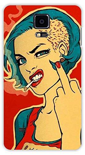 Crazy Beta Attitude Girl Smoking Style 3d Design Amazon In