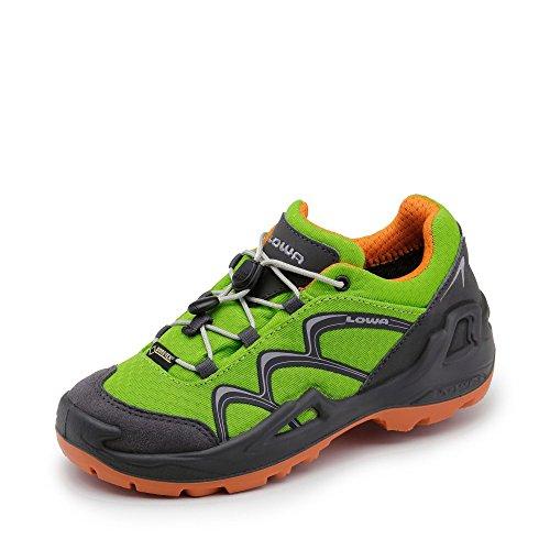 Marie limone Gtx Lowa Low Chaussure Extérieur Orange 340156 Vert Fille qAfptP