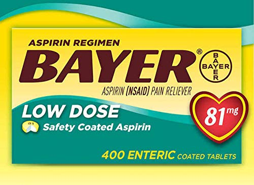 Bayer Low Dose Safety Coated Aspirin 81 mg ( 400 Count )IIIiii
