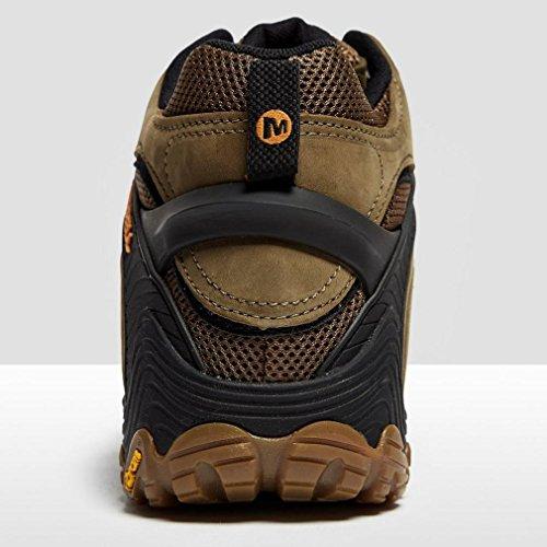 Merrell Chameleon 7 Mid Gore-Tex Zapatos de senderismo Hombre Sneaker J98273 BLACK Dusty Olive