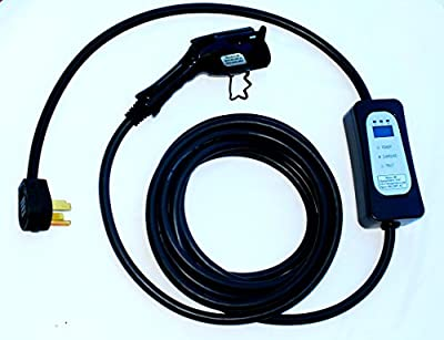 New Maxx-40 ( 40 amp) Electric Vehicle Charger (220V-240V) with nema 14-50 Plug - 25 ft long - Level 2 - J1772 - EVSE
