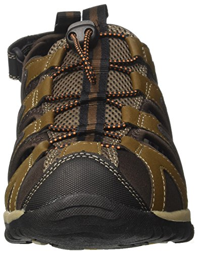 Cove chocolate multi Homme Sandales Breeze Orange Randonnée De Marron burnt Hi brown tec B78wCqw5