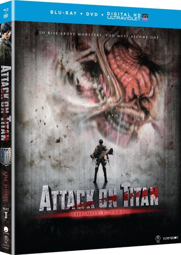 Blu-ray : Attack On Titan The Movie: Part 1 (With DVD, Ultraviolet Digital Copy, 2 Disc)