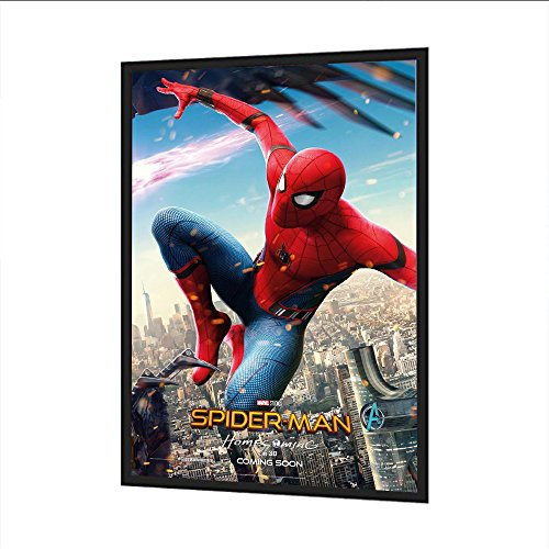 Aluminum LED Backlit 27X40 inches Movie Poster Frame Led Wal