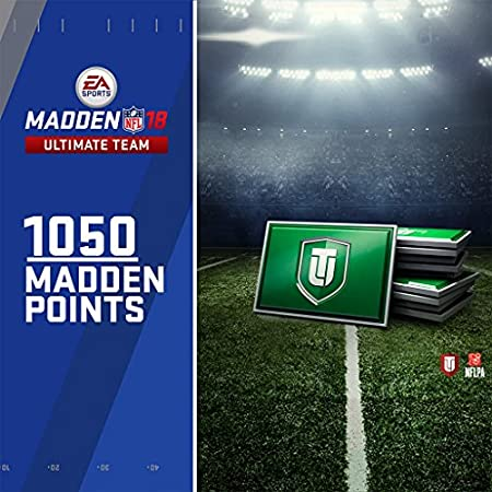 Madden NFL 18: 1050 MUT Points - PS4 [Digital Code]