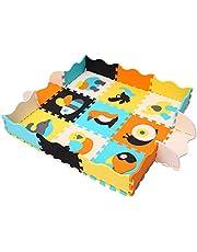 MQIAOHAM Alfombra Bebe Carpet de Espuma eva Grande Infantiles Juguete Manta Parque Play Puzzle tapete