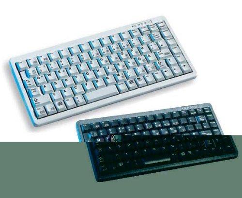 Cherry G84-4100LCMUS-2 G84-4100 General Purpose Keyboard Ultraslim 86-Key Keypad POS Key USB and PS2 and Mech Keyswt - Color Black