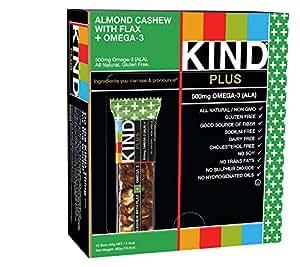 Kind Bar Plus Almond Cashew PLUS Omega-3