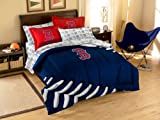 MLB Boston Red Sox Twin-Full Comforter Set