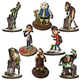 ParaNorman 4-Inch Action Figures with Bases -Complete Set of 8 by Huckleberry Toys