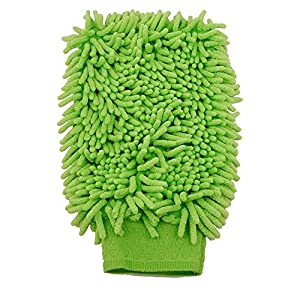Chenille Car Kitchen Household Wash Cleaning Glove Mitt