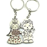 ACEE DEAL Couple Keychain Love Keychain Key Ring
