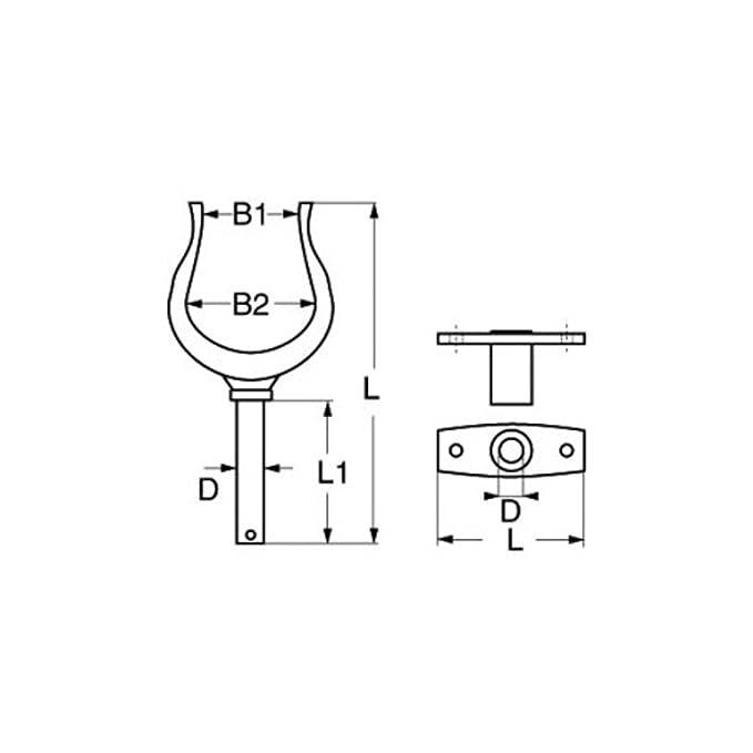 HAWERA Schlangenbohrer Lewis 22.0 x 450//380 mm