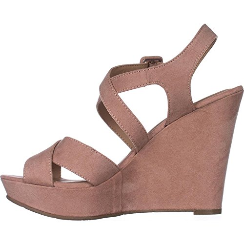 American Rag Womens Rachey Peep Toe Casual Platform Sandals, Blush, Size 7.5 from American Rag