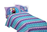 Disney Frozen Light Up The Sky Twin Sheet Set