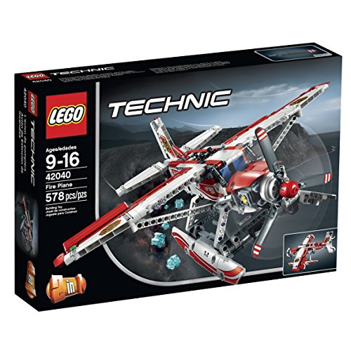 LEGO Technic 42040 Fire Plane Building Kit