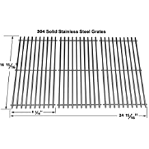 66123 Centro, Char-Broil, Fiesta, Kenmore, Kirkland, Kmart, Master Chef, Savor Pro and Thermos Stainless Steel Replacement Cooking Grid