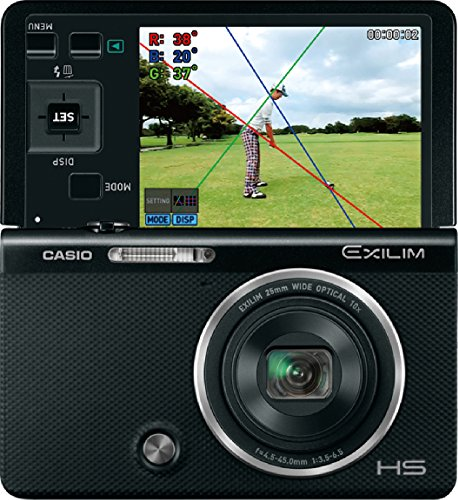 CASIO digital camera EXILIM Ryo Ishikawa professional swing movie built golfer for high-speed camera EX-FC500SBK (Best High Speed Camera For Golf)