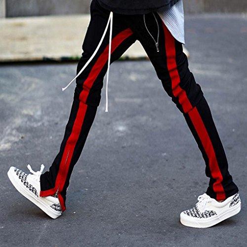 De Couleur Confortable Pantalon Été Mode Survêtement Respirant Homme Blanc Minetom Noir Sportswear Unie Jogging Printemps Slim zw8UWxEpqA