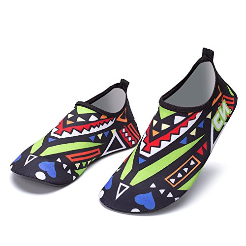 Natación exterior de transpirable Lucdespo buceo de zapatos rápido suave green inferior playa principal y piel zapatillas secundario zapatos 1931 de secado natación Zapatos vfdqaOwUfn