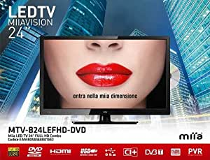 MIIA TV MIIA 24'' LED FHD DVBT HD HDMI USB L.DVD INT