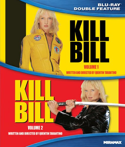 Blu-ray : Kill Bill, Vol. 1 and 2 (Dolby, Widescreen, Digital Theater System, , AC-3)