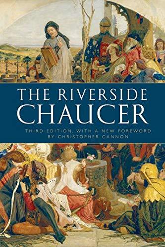 The Riverside Chaucer Chaucer Geoffrey 8601300145617 Amazon Com Books