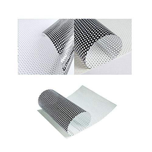 folimac 8,50/€//m/² One Way Vision Folie Lochfolie f/ür Digitaldruck//Sichtschutzfolie 200cm x 152cm