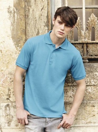 Fruit Of The Loom Premium Polo M,Sky Blue