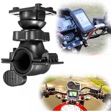 Gancho manillar Soporte Bici Bicicleta Moto para soporte smartphone GPS a 4 agujeros: Amazon.es: Electrónica
