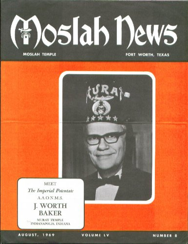 Temple Tx News >> J Worth Baker Moslah Temple News Ft Worth Tx 8 1969 At