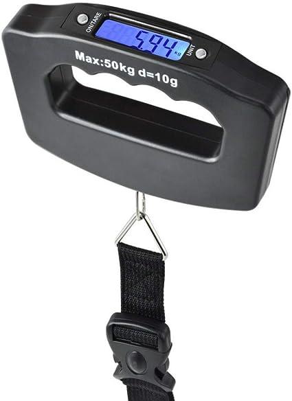 Digitale gepäck waage 50kg lbs oz 4-unit handheld angeln reise koffer waage