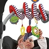 Lightake Hobby Toys Cute Infant Babyplay Activity Spiral Bed & Stroller Toy Set Hanging Bell Crib Rattle Toys For Baby offers