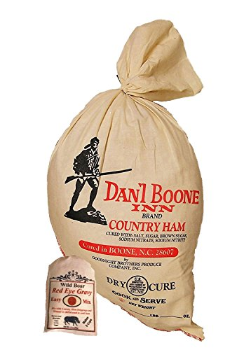 Dan'l Boone Inn Whole Country Ham (12 Lbs to 15Lbs) with Red Eye -