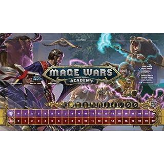 Arcane Wonders Mage Wars Academy 14 x 24 Beastmaster vs Wizard Playmat Board Games