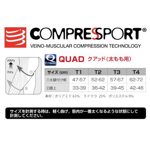 Muslera Unisex COMPRESSPORT Quad