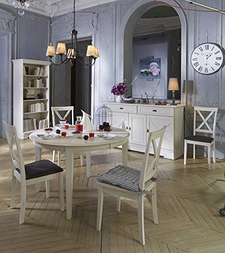 FOB Import 3 2 Buffet 3 Portes 2 Tiroirs Olivia - Bois - Chêne Blanchi Vieilli - 162 x 50 -5 x 87 cm