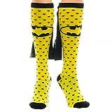 Best bioworld batman Capes - Knee High Cape Sock - Batman Hearts Yellow/Black Review