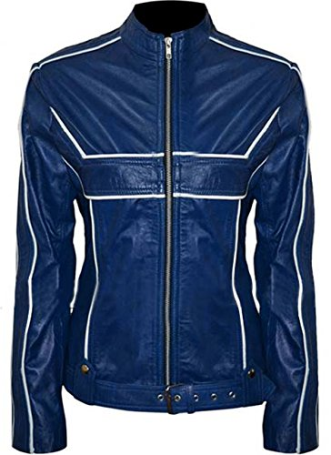 Once Upon A Time Emma Swan Blue Jacket by Jennifer Morrison (S)