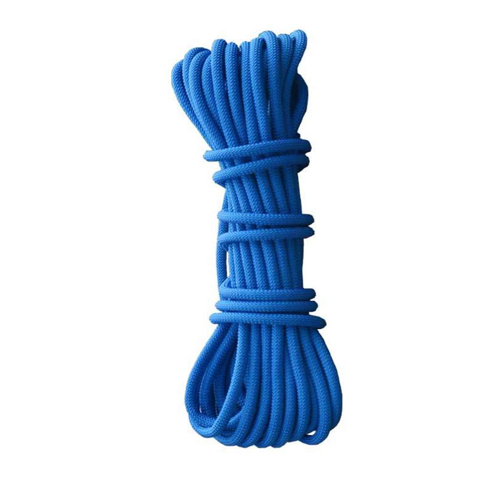 16mm IG Corde d'escalade de sécurité résistante à l'usure, Corde de sécurité de 16Mm Corde d'élingue de sécurité de Haute Altitude Corde, Corde de Nettoyage de Mur extérieur, Corde de P