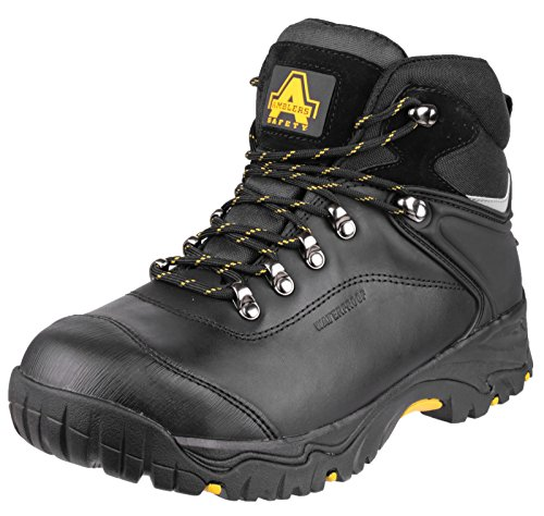 De Ambler Fs991 Mens Wp Saftey travail Boot Blk - 08