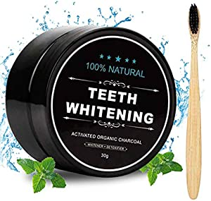 Giveaway: Activated Charcoal Natural Teeth Whitener Teeth Whitening...