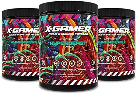 New X-Gamer Hyperbeast 3 x 60 Serving X-Tubz Pack Focus & Energy Formula (180 Servings): Amazon.es: Salud y cuidado personal