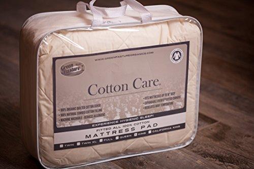 Cotton Care Organic Mattress Pad (King (76x80))