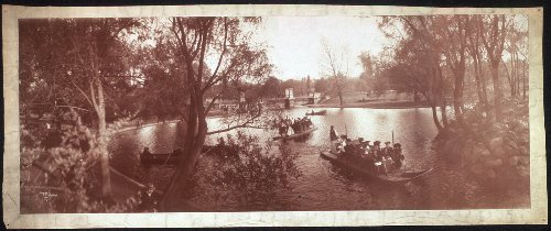 Garden Public Boston Photos - Vintage Reprints Photo Boston Public Garden 1904