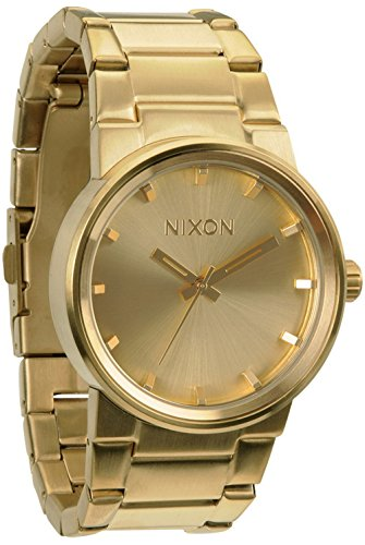 NIXON Quartz Steel and 18K and Gold Plated Casual Watch(Model: A160-502)
