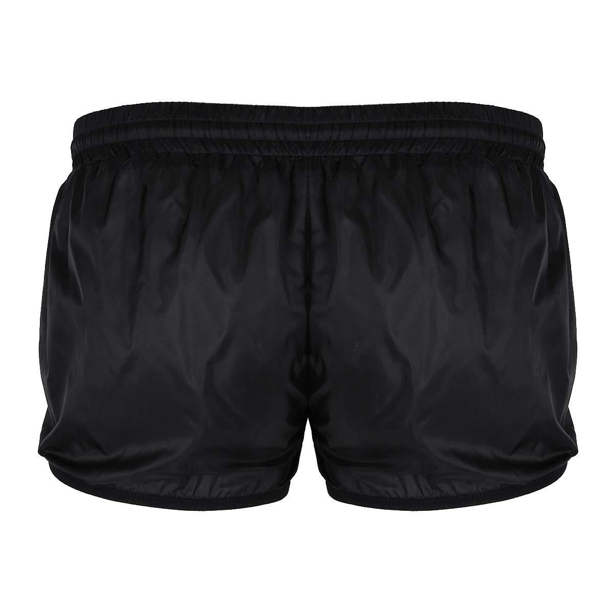 iEFiEL Men Lightweight Boxer Briefs Swim Trunks Beach Shorts Lounge Sport Short Pants