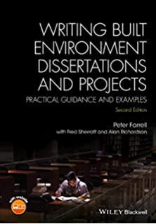 Dissertation research writing construction students nd edition FC